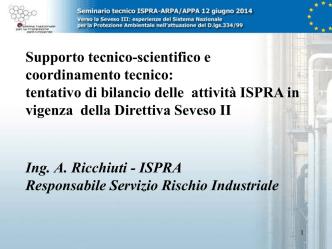 2_Ricchiuti_ISPRA_Seminario 12 giugno 2014