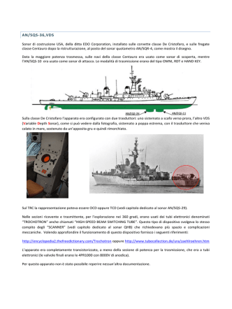 AN/SQS-36,VDS - sonar-info