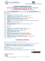 Bozza programma al 3 11 2011