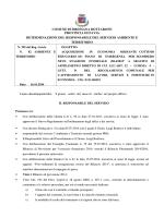 DETERMINA N. 295 DEL 16.10.2014