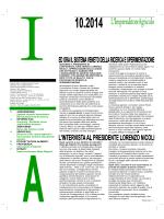 Clicca qui per scaricare il numero di Dicembre 2014