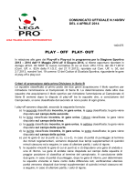 PLAY – OFF PLAY- OUT