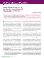 DEMATERIALIZZAZIONE - Il Documento Digitale