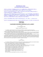 CALENDARIO VENATORIO REGIONALE ( L.R.T. n. 20/2002 )