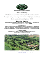 """One Golf Day"" ""2 mesi al Circolo"""