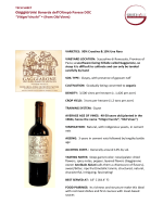"""Vitigni Vecchi"" • (from Old Vines)"