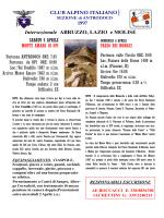 scarica locandina - CAI Sezione di Antrodoco