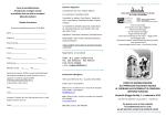 Scheda di iscrizione - Comune di Novellara
