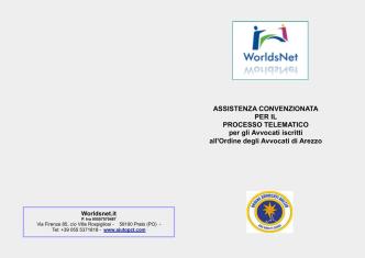 ASSISTENZA CONVENZIONATA PER IL PROCESSO TELEMATICO