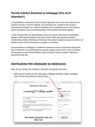 Copia di instruzioni per ordinare Snowfoot su Indiegogo copy