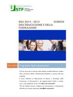 Programmi degli insegnamenti - Dipartimento di Scienze e