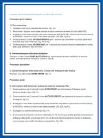 Gestione del trattamento Duodopa® con PEG/PEJ Freka®: