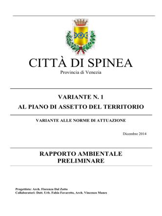 05.AllegatoF Vas - Comune di Spinea