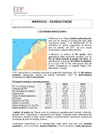 MAROCCO – SCHEDA PAESE