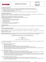 INFORMATIVA SULLA PRIVACY Q-OPE-F019 Revisione 00