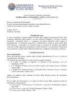 Storia della filosofia antica - Università degli Studi di Bari