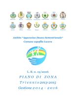 PIANODIZONAT riennio 2013-2015 Gestione 2 0 1 4