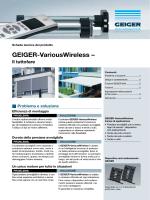 GEIGER-VariousWireless – - GEIGER Antriebstechnik