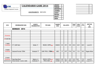 30 10 2014 calendario raffa aggiornato