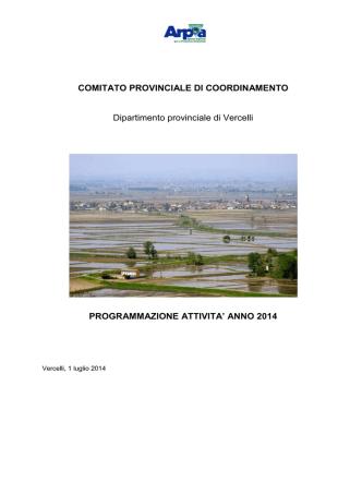 COMITATO PROVINCIALE DI COORDINAMENTO