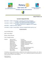 Gennaio 2014 - Rotary Club Torino 150