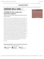 """""""Un italiano su 4 dai """"Compro Oro"""", aumentano i sequestri"""""""