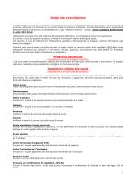 Istruzioni per la compilazione