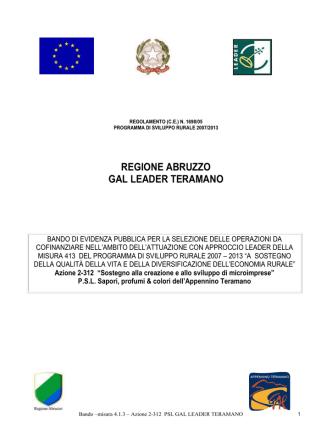 BANDO 312 - CNA Teramo