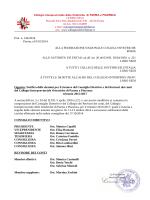 cariche elette - Collegio Interprovinciale delle Ostetriche della