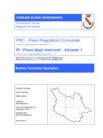 PRC - Piano Regolatore Comunale