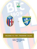 Bologna-Frosinone, clicca qui per scaricare il match