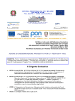 disseminazione PON -FESR 2014-15