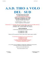 A.S.D. TIRO A VOLO DEL SUD - Il Tiro a Volo In Calabria