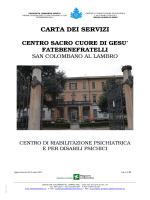 Carta Servizi Centro 28/04/2014