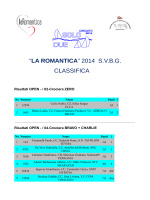 la romantica 2014 – classifica finale per categorie