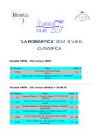 la romantica 2014 – classifica finale per categorie