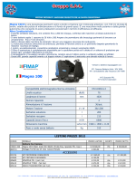 Scheda Listino Fimap Magna 100B
