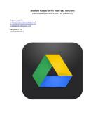 Montare Google Drive come una directory