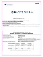 BANCA SELLA 2014 - Unione del Commercio di Milano