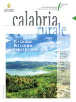 PSR Calabria. Uno scenario sempre più verde