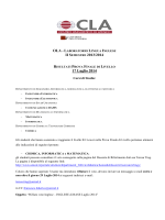 OLA - L II SEMESTRE 2013/2014 17 Luglio 2014