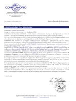 Spett.le Azienda/Professionista CONFLAVORO PMI CROTONE