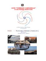 POF 2014-2015 - Licei di Belvedere