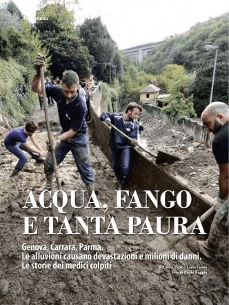 ACQUA, FANGO E TANTA PAURA Genova, Carrara