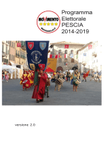 Programma Elettorale PESCIA 2014-2019