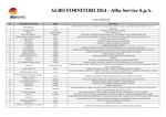 Elenco Fornitori 2014 Forniture