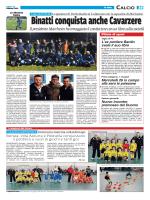 Calcio Binatti conquista anche Cavarzere