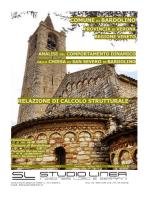 Relazione di calcolo - 3DMacro il Software per le Murature