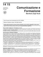 Manifesto degli studi - Università di Udine