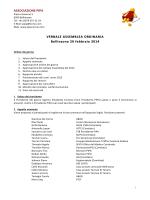 Verbale Assemblea Ordinaria 2014